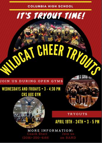 Wildcat Cheer Tryouts