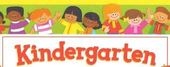 Kindergarten Zoom Times- 9:00 AM and 1:00 PM