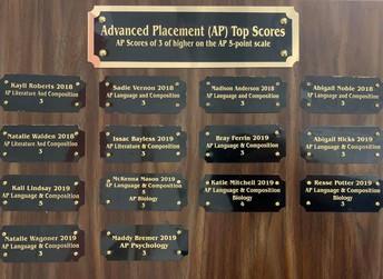 Recognizing Academic Achievement at CHS