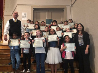 English Learner Redesignation Ceremony