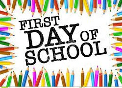 Monday, August 31st- First Day for Students
