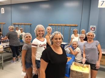 Carlson Kindness Club Feeds Starving Children