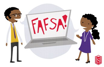 Seniors, fill out the FAFSA.  Learn how on Feb. 7