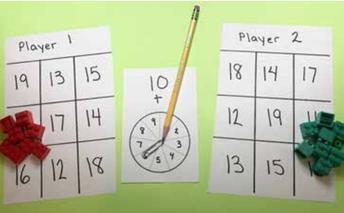 Basic Fact Fluency: Ten Plus a Number - Grades K-2