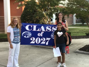 Welcome to the Class of 2027!
