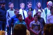 Choir performance