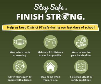Finish Strong: Help Us Keep D97 Safe