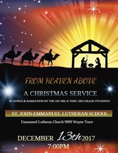 School Christmas Services
