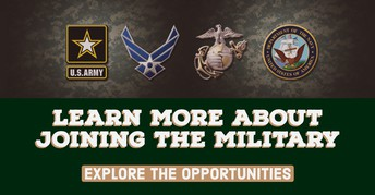 Interested in joining the Military?