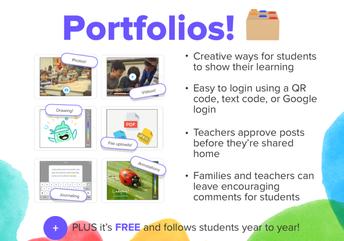 Create Student Portfolios