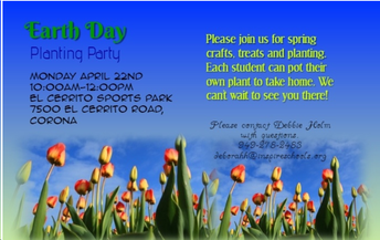 Inspire's Earth Day Planting Party