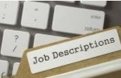 3- Job descriptions