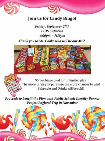 Candy Bingo Fundraiser