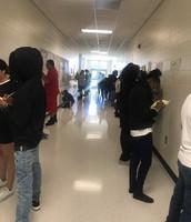 Hallway Fun with Mrs. Glisson