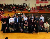 Wrestling Alumni Recognition Night