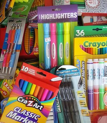 The FRC has School Supplies...