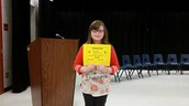 Congratulations, Abigail!