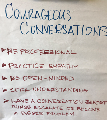 COURAGEOUS CONVERSA-TIONS