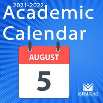 2021-2022 MPSD Academic Calendar