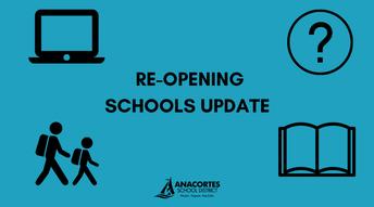 Reopening schools update