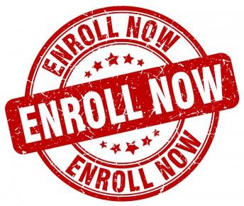 Enrolling through September 30th for General Education.(August 31st for EC Educators)