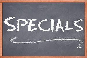 Specials Schedule & Grading