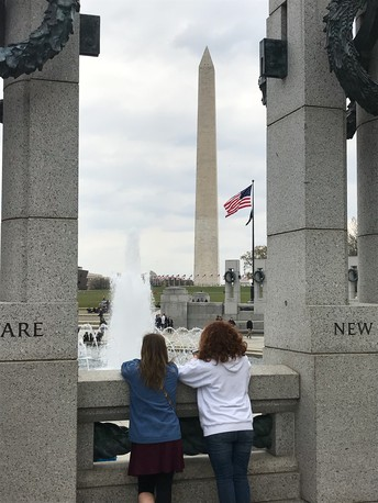 OVHS Students Visit Washington D.C.
