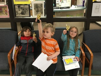 April Character Ed Winners-Having Self-Control