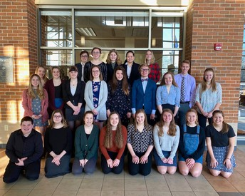 Good luck to our Forensics team as you prepare to advance to State!