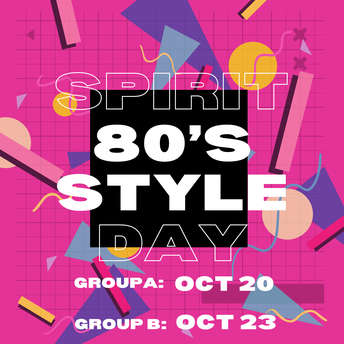 🕶🟣〰️Dress-up Day : Spirit Day/ 80's Style 〰️🔸🕶