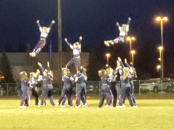 NP Cheer Squad @ WVHS Friday