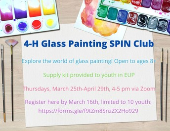 4-H Glass Painting