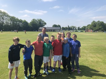 Year 5 Cricket Team Success
