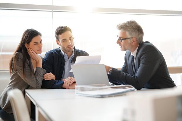 Meeting a Financial Advisor