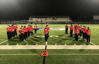 OSSB Marching Band takes the field in Urbana