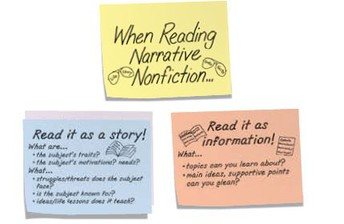 (Continued) Reading Unit 2: Nonfiction Reading: Reading to Get to the Text (mid September-October)