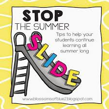 How can your Child Not Fall Victim to the Summer Slide?