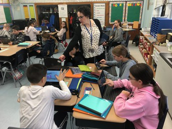 Using Pear Deck on the Chromebooks