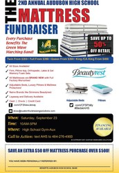 Second Annual Mattress Sale at AHS - Fundraiser - Sat. Sept. 23rd