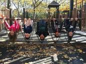 Fun at Fort Greene Park