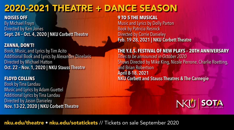 2020-2021 Theatre Season