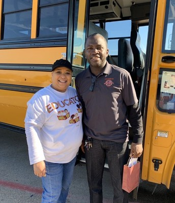Ms. Spencer thanks our drivers.