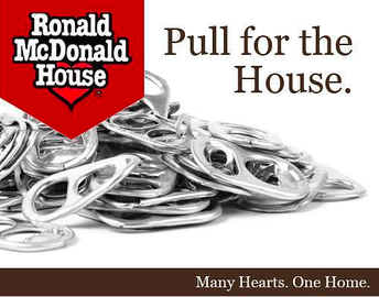 POP TOPS FOR RONALD McDONALD HOUSE: