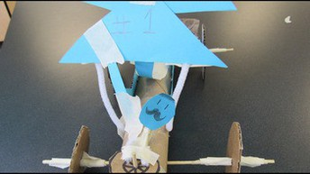 Grades 3-5: Wind-Powered Cars (Physical Science)