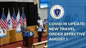 New MA State Travel Order