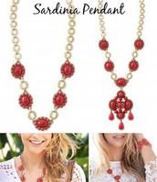 Sardinia Pendant necklace