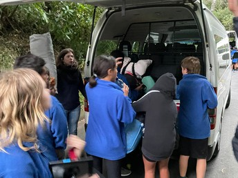 Unpacking our vans
