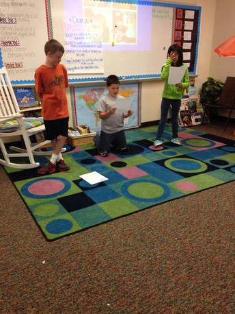 Acting Out Your Fluency!