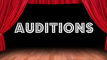 Audition Information- Friday, May 7th