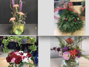 Floral Design Arrangement of the Month Club